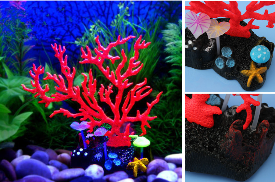 Fish Tank Luminous Coral