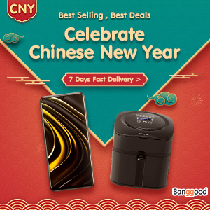 Banggood Chinese Lunar New Year 2021: All of The Best Deals To Buy